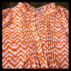Dress from Gap orange and white cute print!